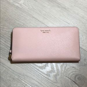 Kate Spade Cameron Large Continental Wallet Pink